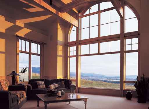 Image of a large picture window offering a great view of the outdoors