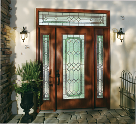 """Thinking of a facelift for your home? """"How to Choose a Front Door"""" breaks down choosing a new door into 4 steps: location, size, door elements and material."""