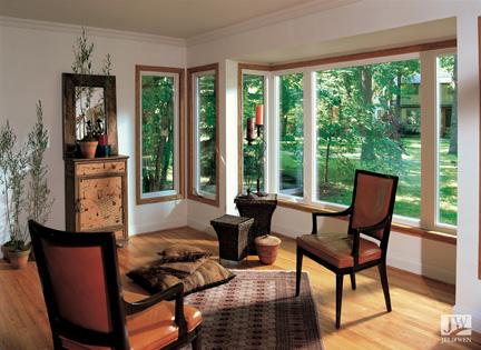 JELD-WEN vinyl casement windows (Willmar Collection)