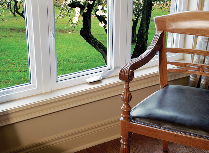 A condensation-free window without seal failure.
