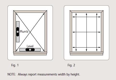 Comment prendre les mesures pour remplacer des fen tres for Prise de mesure fenetre