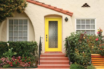 peignez avec personnalit 4 couleurs de porte d entr e envisager pour votre maison blogue. Black Bedroom Furniture Sets. Home Design Ideas