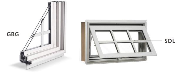 Faut-il que je choisisse les carrelages scellés (GBG) ou les simili-barrotins (SDL) pour mes fenêtres ?