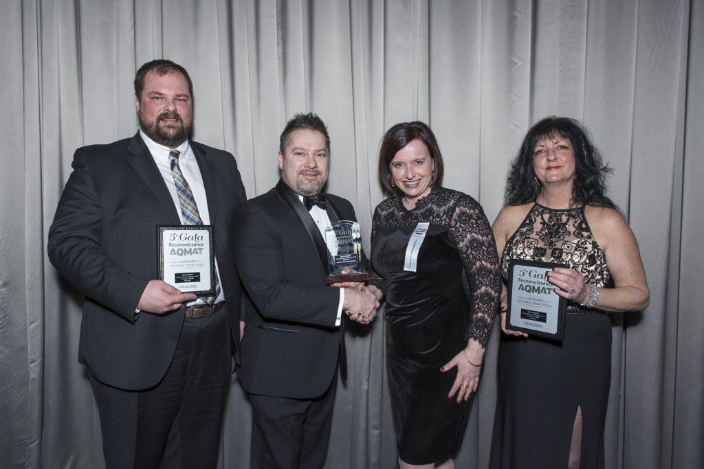 JELD-WEN receives the AQMAT Society Award