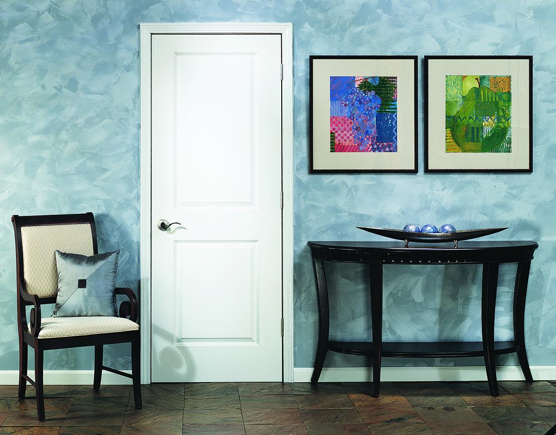 Ouvrez-vous à de nouveaux horizons : Voici la porte intérieure Carrara® lisse de JELD-WEN