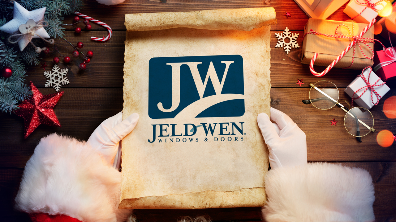 The 2018 JELD-WEN Windows & Doors Holiday Wish List