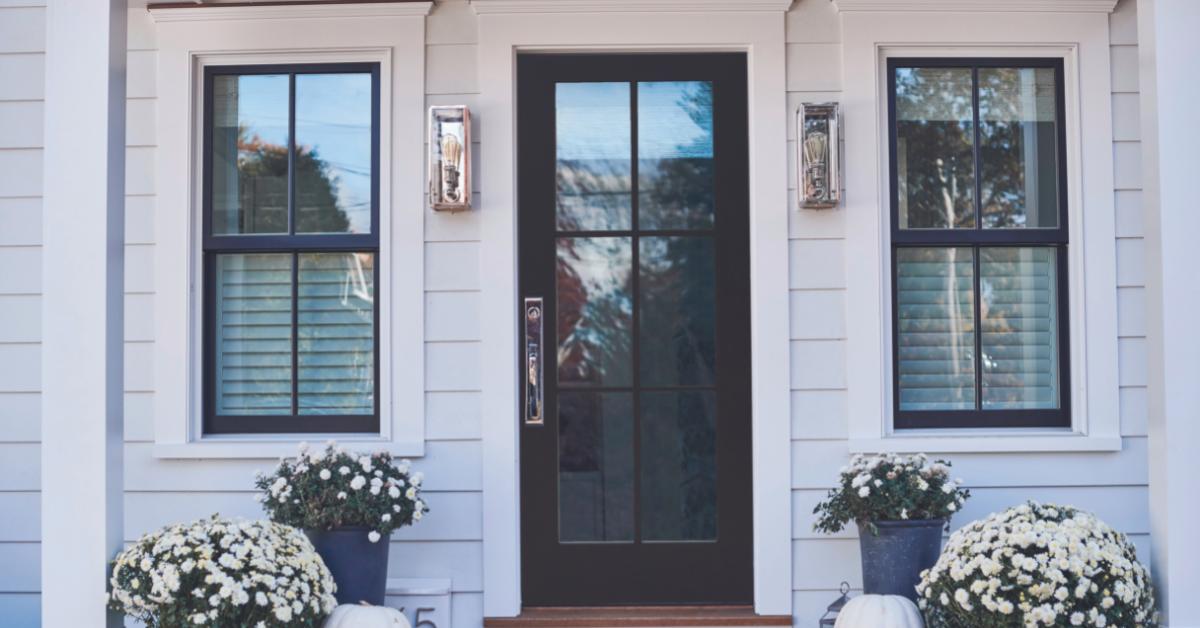 Black_glass_entry_door